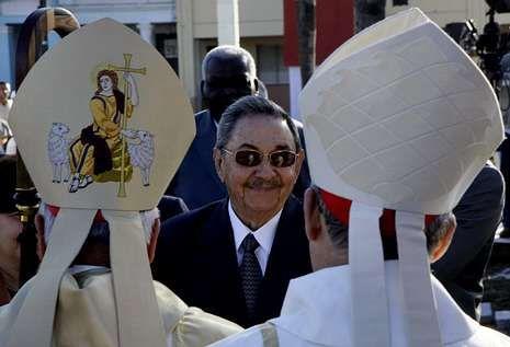 Castro y los obispos