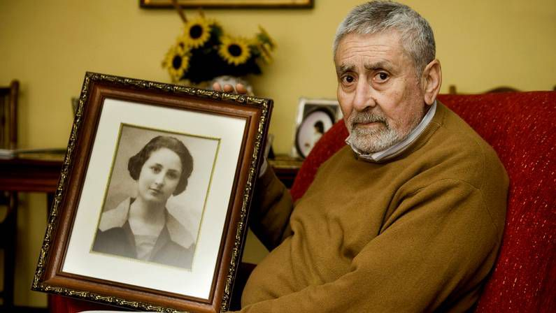 Muere el hijo de Amada García, la republicana de Mugardos fusilada tras  parir