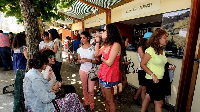 Arrancan En Cambados Los Cinco Días De Fiesta En Honor Al Albariño