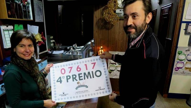 Caen 40.000 euros de un cuarto premio de la Lotería en O ...