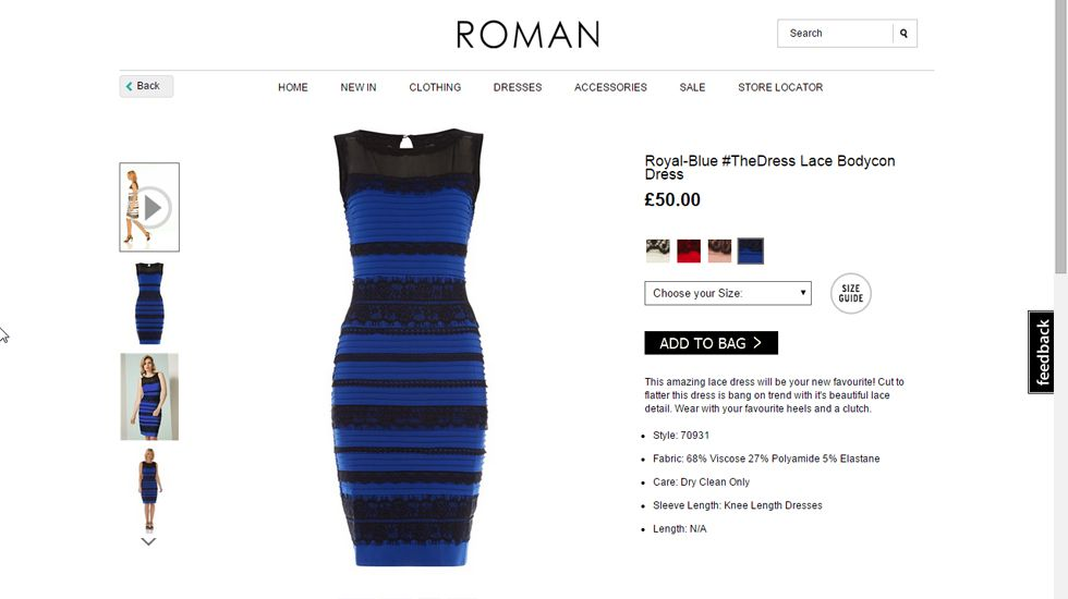 El Enigma De Por Qué Algunos Ven Un Vestido Azul Y Negro Y