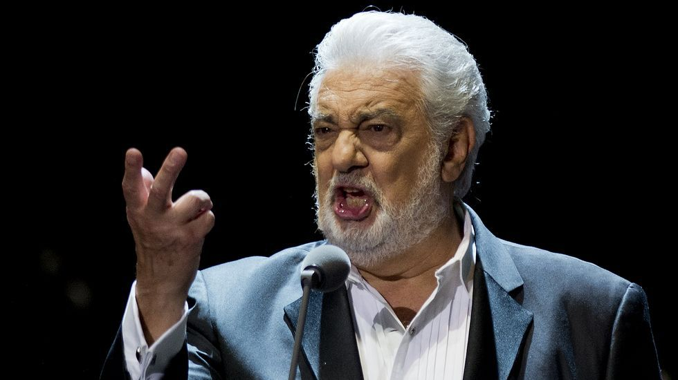 Resultado de imagen para Plácido Domingo actúa mañana en Salzburgo por primera vez tras las acusaciones de acoso sexual