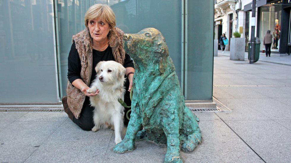 Resultado de imagen para perro Ney estatua