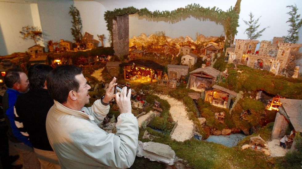 Fotos Del Nacimiento De Navidad.El Belen De Begonte Estrena La Navidad En Lugo