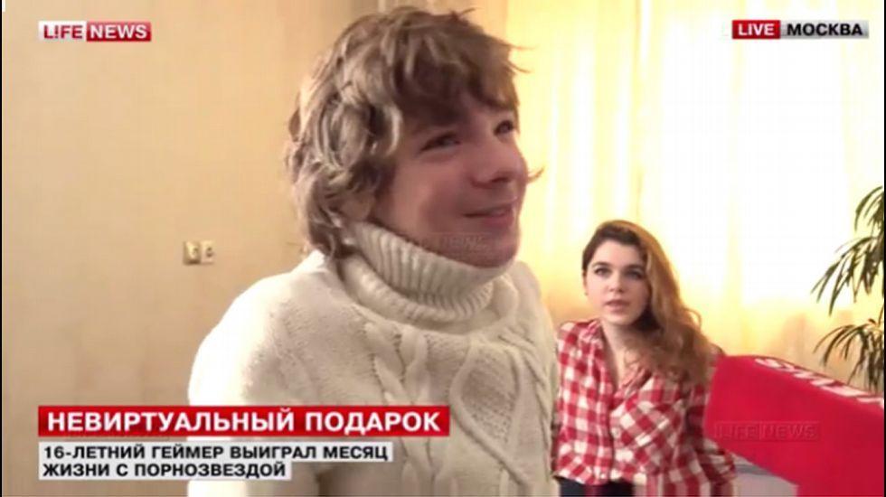 Niña que parece tener 16 años porno Un Adolescente Ruso Gana Un Mes Con Una Actriz Porno En Una Web De Videojuegos