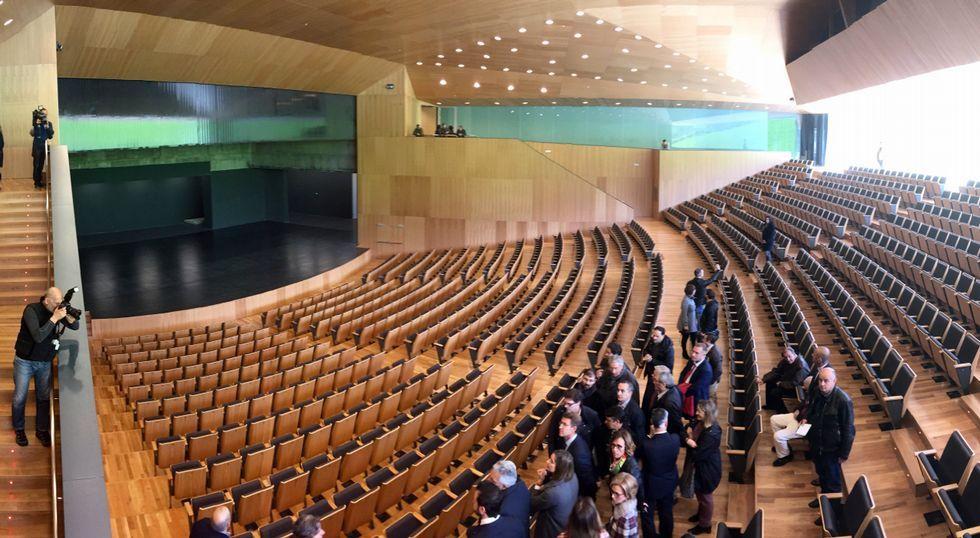 Para qué vale el nuevo auditorio de Lugo?