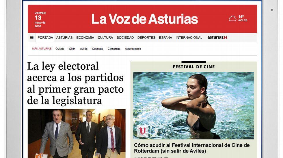 La Corporación Voz De Galicia Lanza El Diario Digital La Voz De Asturias