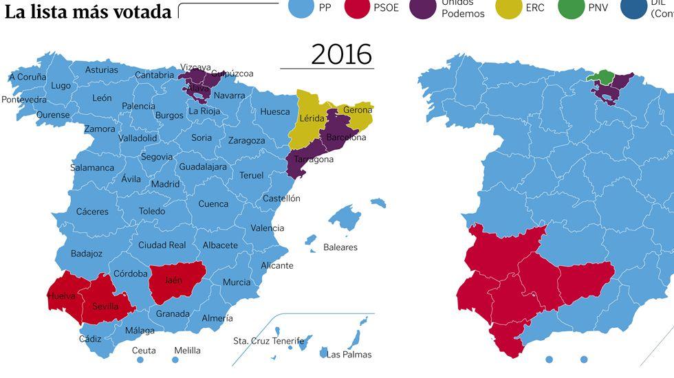 Mapa Politico De Asturias.Asi Queda El Mapa Politico