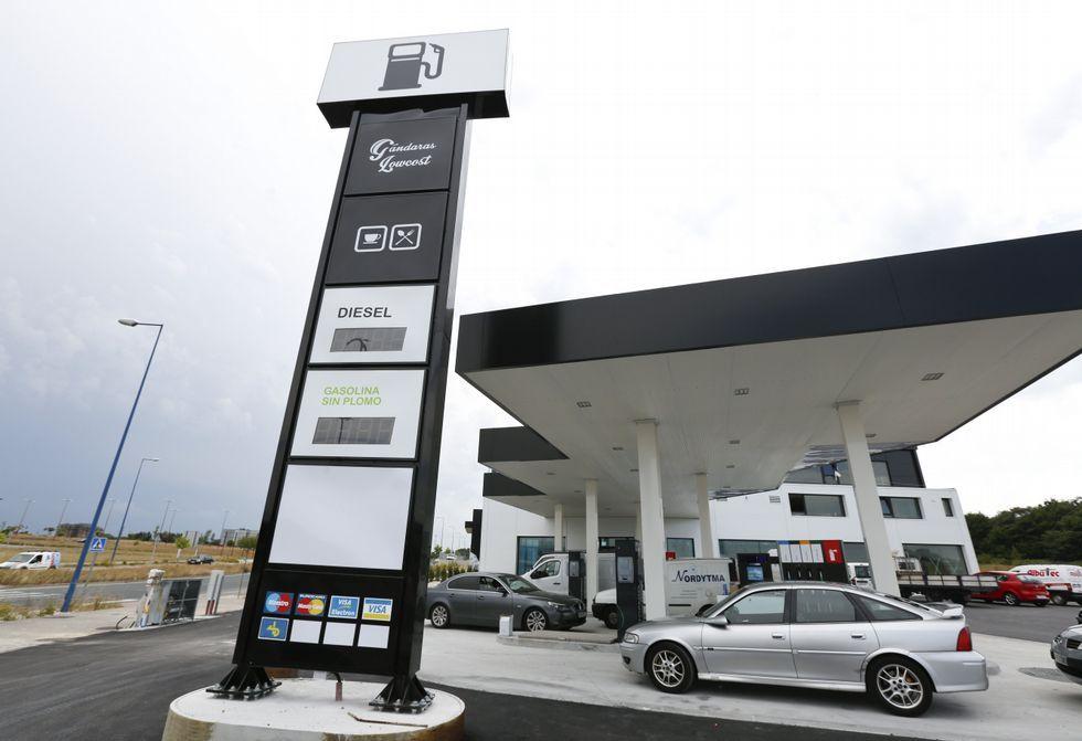 As Gandaras Se Incorpora A La Red De Gasolineras De Low Cost De Lugo