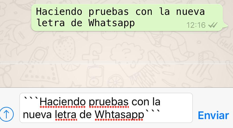 Whatsapp Ya Ofrece Un Nuevo Tipo De Letra Te Explicamos