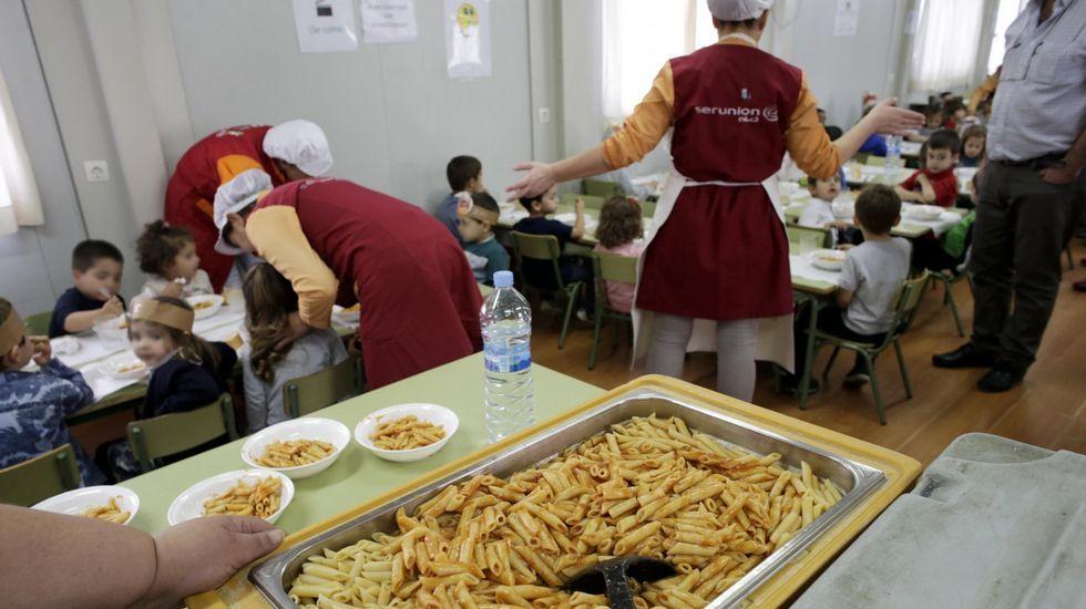 El Concello confirma que Serunión servirá los comedores escolares de ...