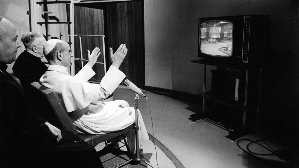 El Papa Pablo VI y la Luna