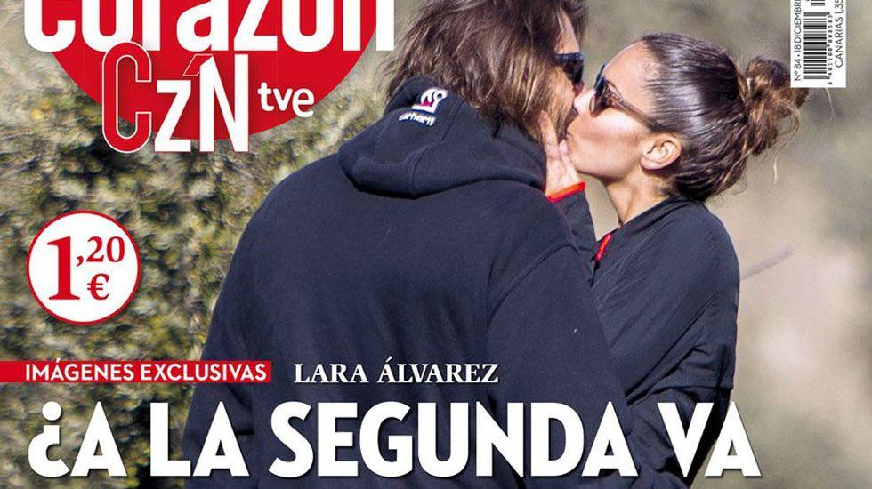 214315b1f9 Lara Álvarez presume de amor gallego