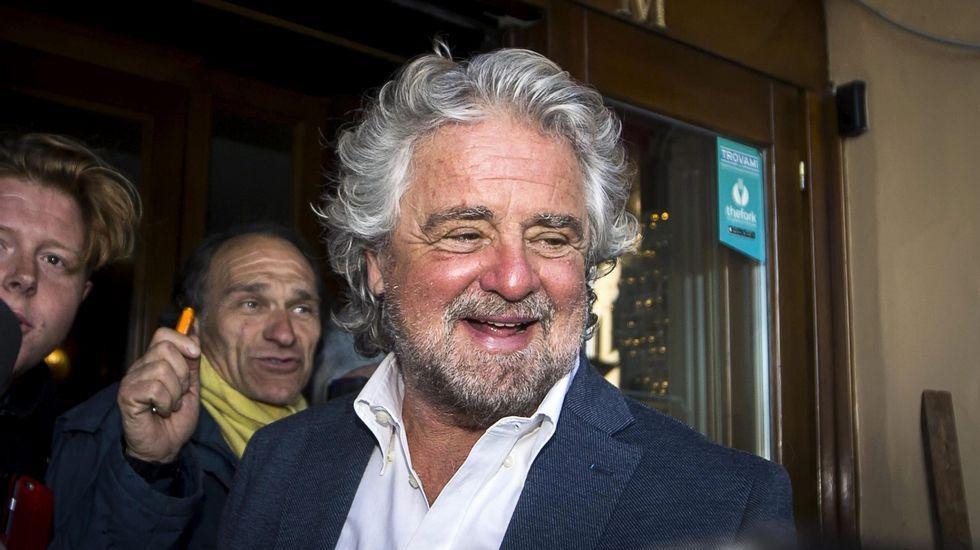 Beppe Grillo propone «jurados populares» para controlar las noticias falsas  de los medios