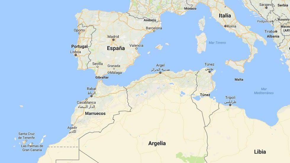 Mapa Politico De Canarias.Exigen Al Gobierno Medidas Para Situar A Canarias