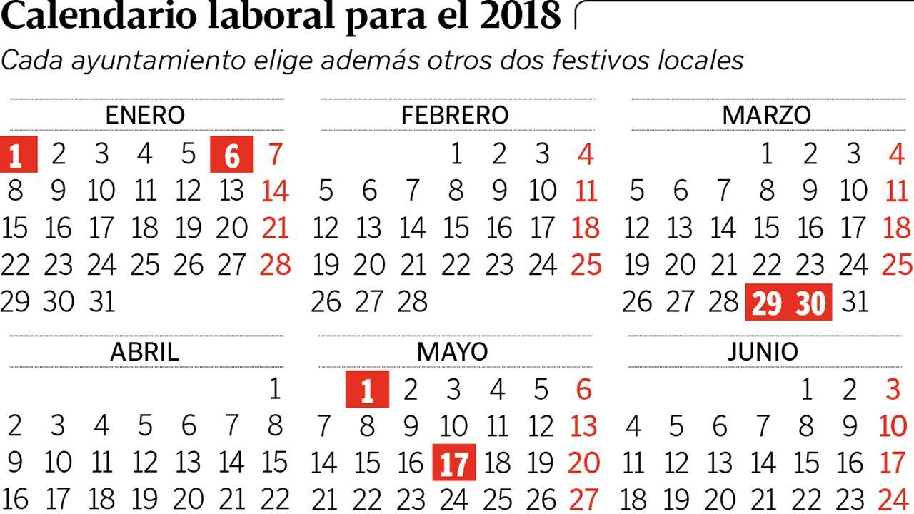 Calendario Festivo.Cuando Cuadran Los Festivos Y Puentes Del Calendario Laboral