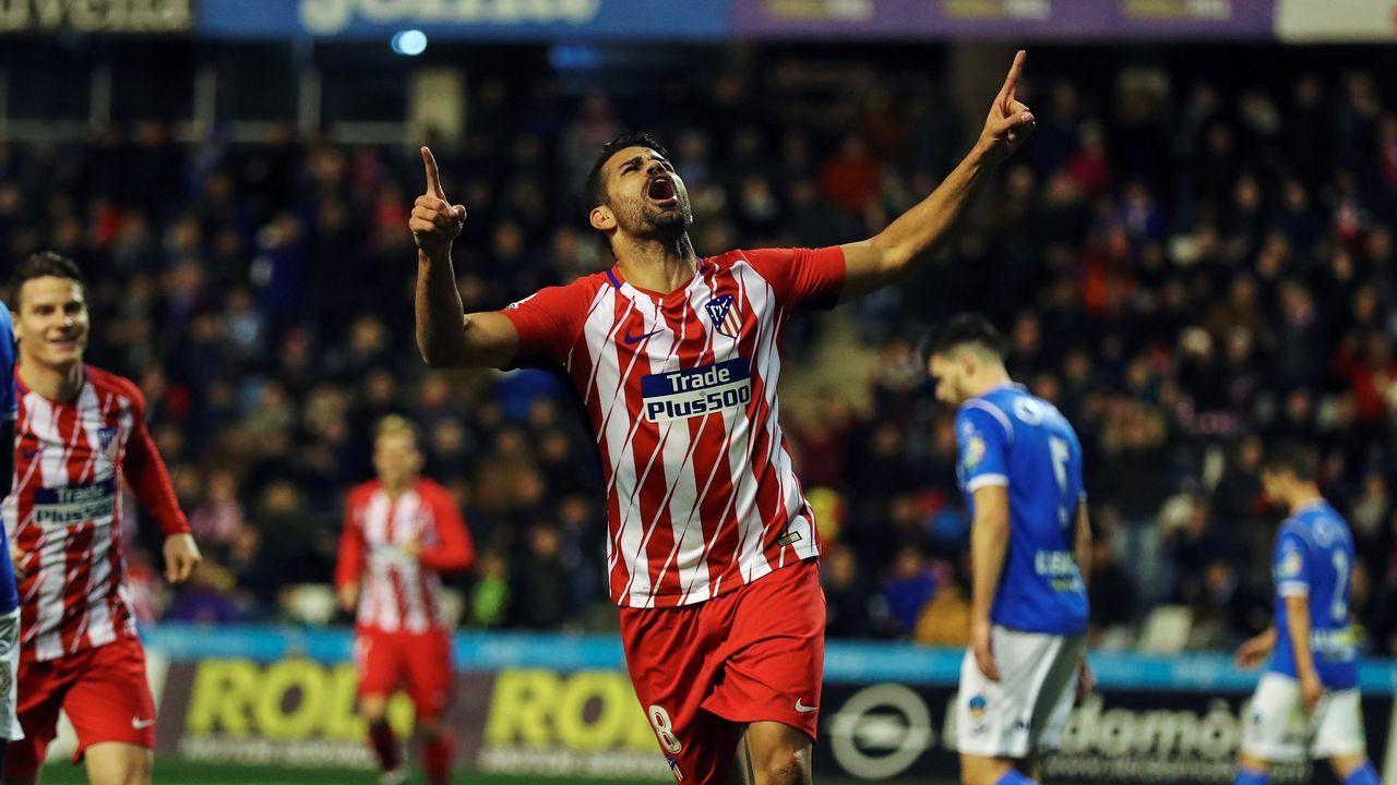 Diego Costa devuelve el gol al Atlético ante el Lleida
