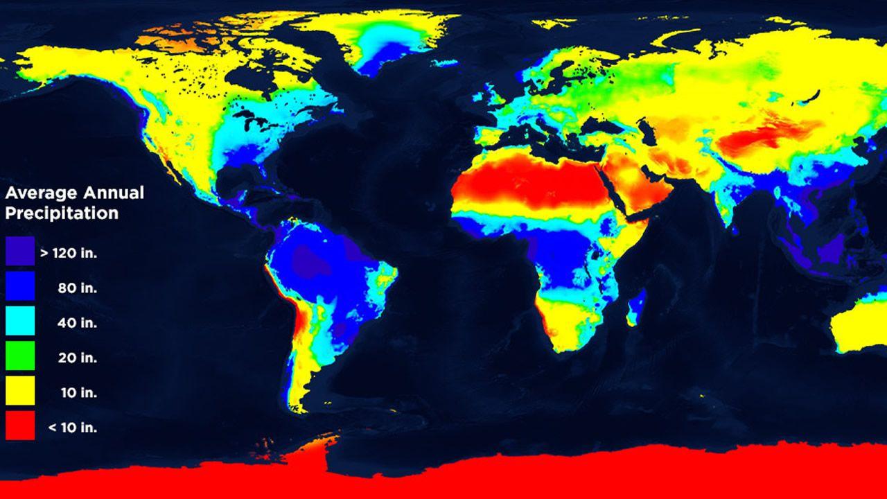 Mapa Del Tiempo En El Mundo.Galicia En El Mapa Mundial De La Lluvia