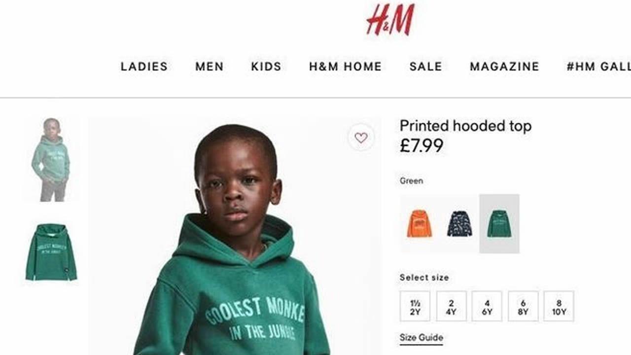 comprar online hermosa y encantadora estilos frescos H&M retira una foto de su página web acusada de racista