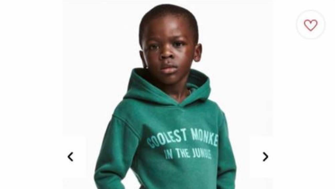 H&M retira una sudadera tras recibir críticas por racismo