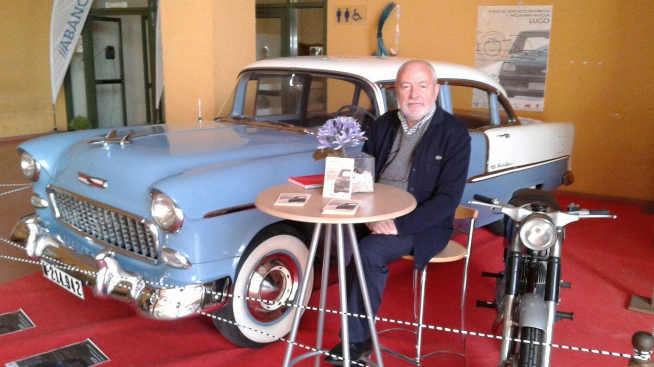a157c94e53 Francisco Roibás, el hombre que cede más de 50 coches clásicos para un museo