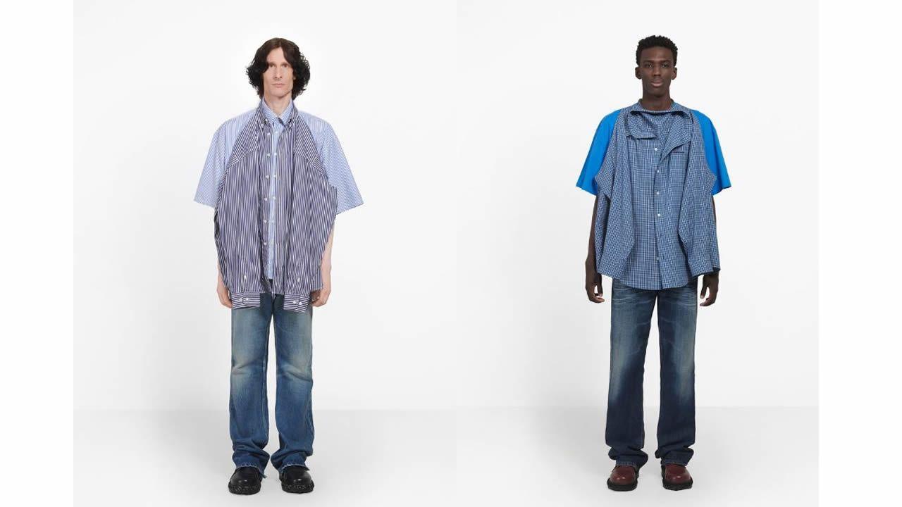 materiales superiores busca lo mejor venta online La «camiseta camisa» de Balenciaga de la que se ríe todo el ...