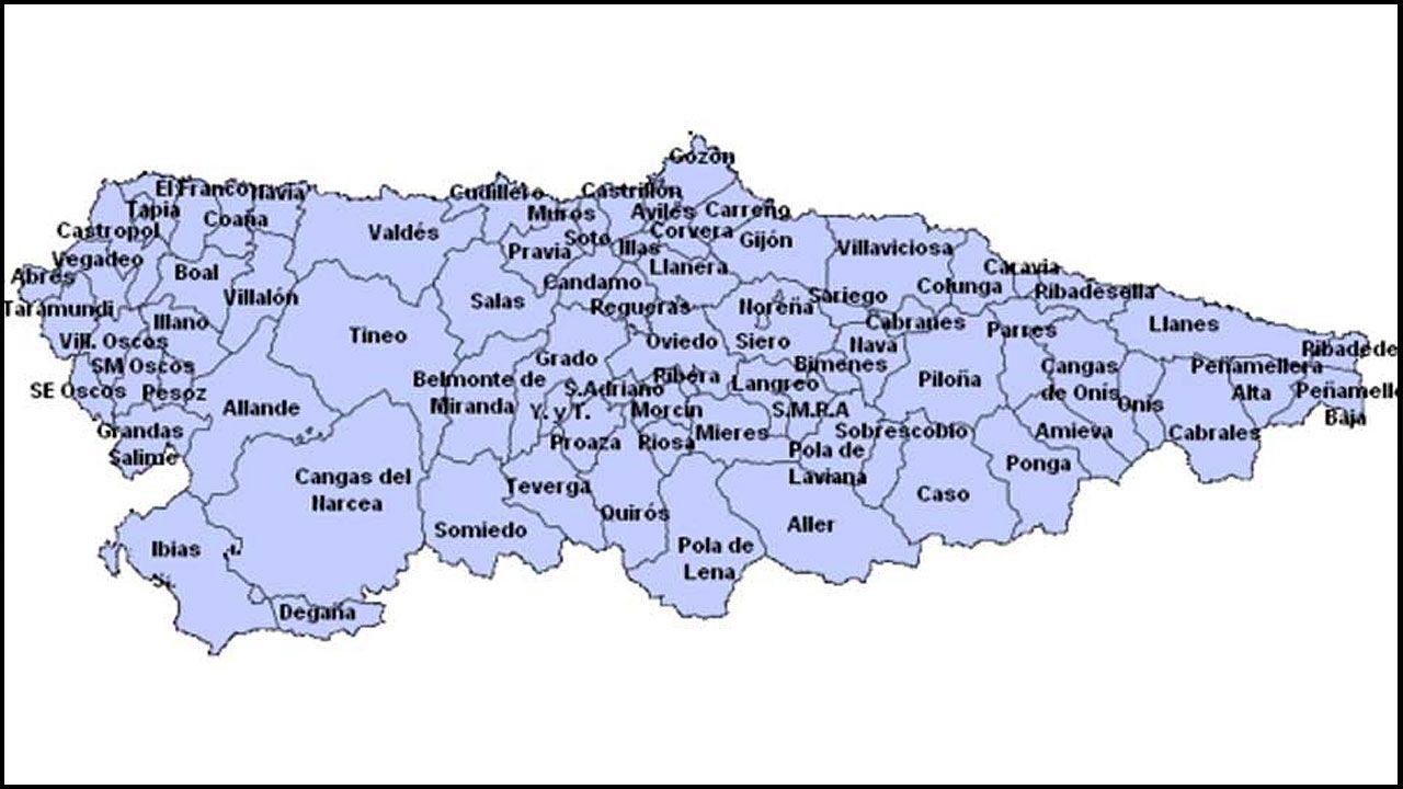 Una Asturias Que No Llega A Los 20 Concejos