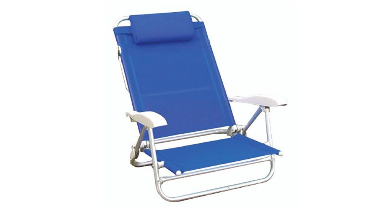 silla comoda llevar playa