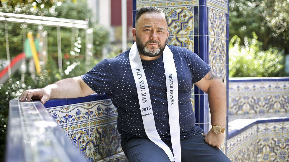 Fernando Castro Se Convierte En Mister Espana De Tallas Grandes