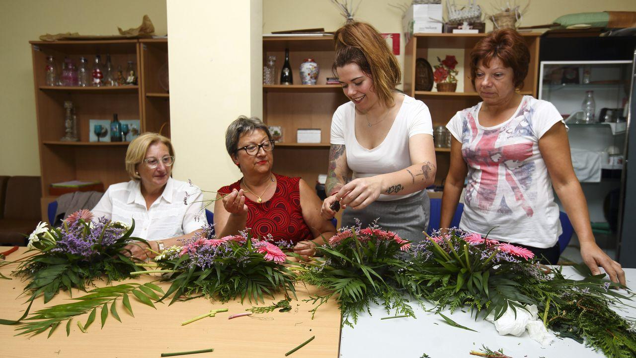 En Marcha El Curso De Arreglos Florales En Malpica Y Buño