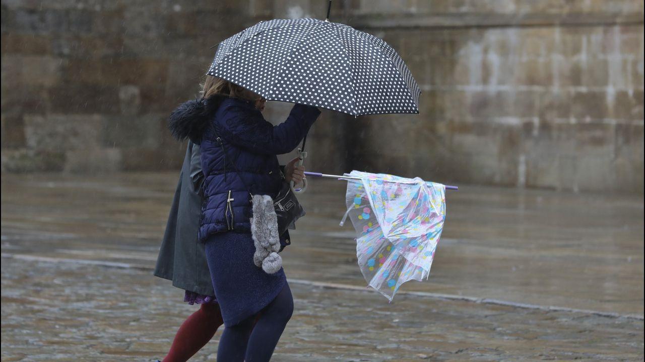 Sí En Vigo Llueve Más Que En Santiago