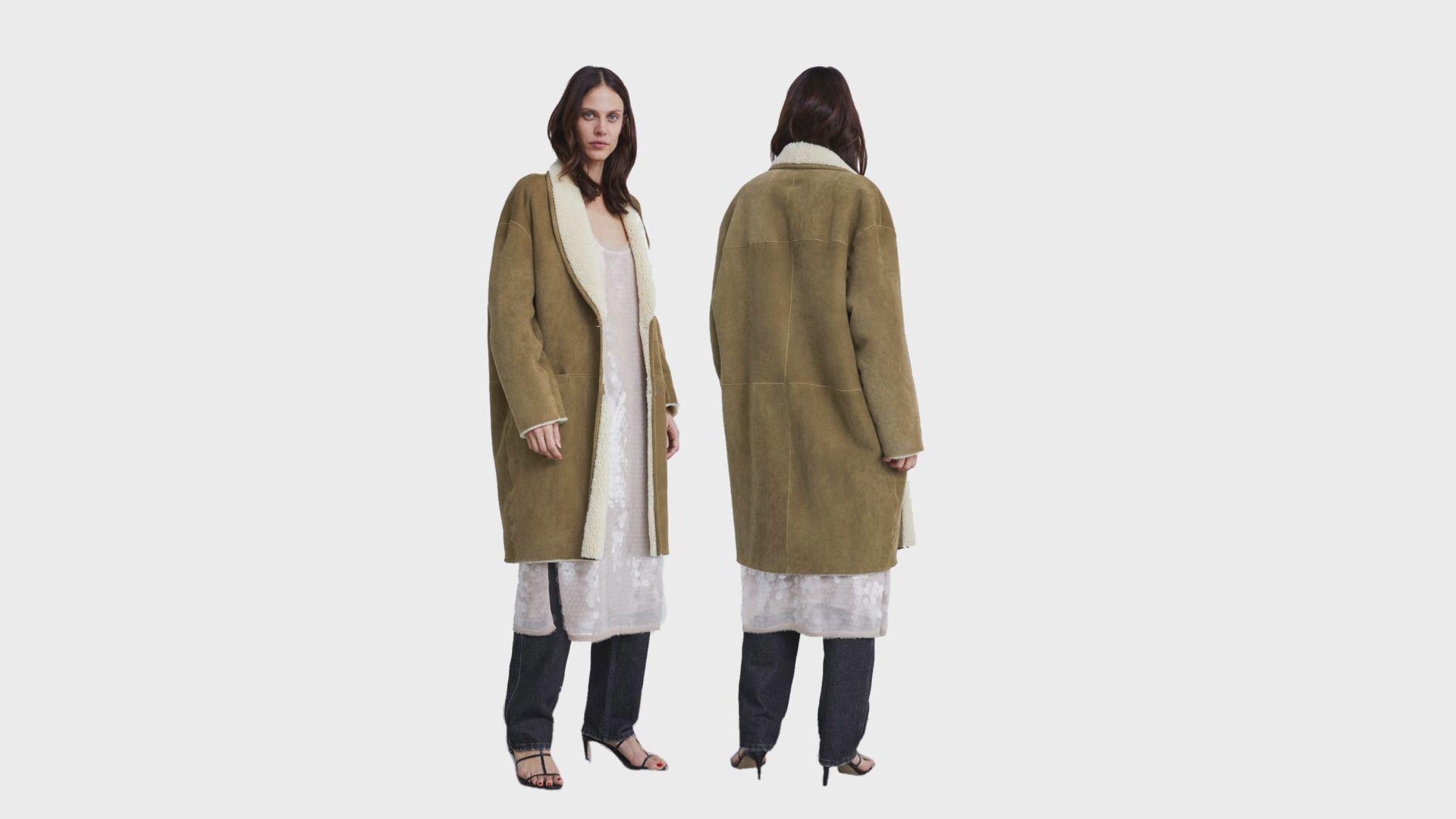 chaqueta piel zara edición limitada