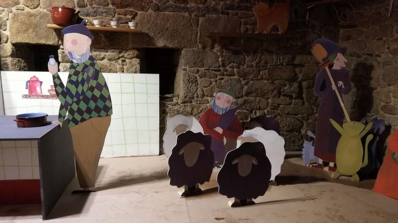 Barro tendrá su propia noria navideña y actividad continua en el pazo da Crega