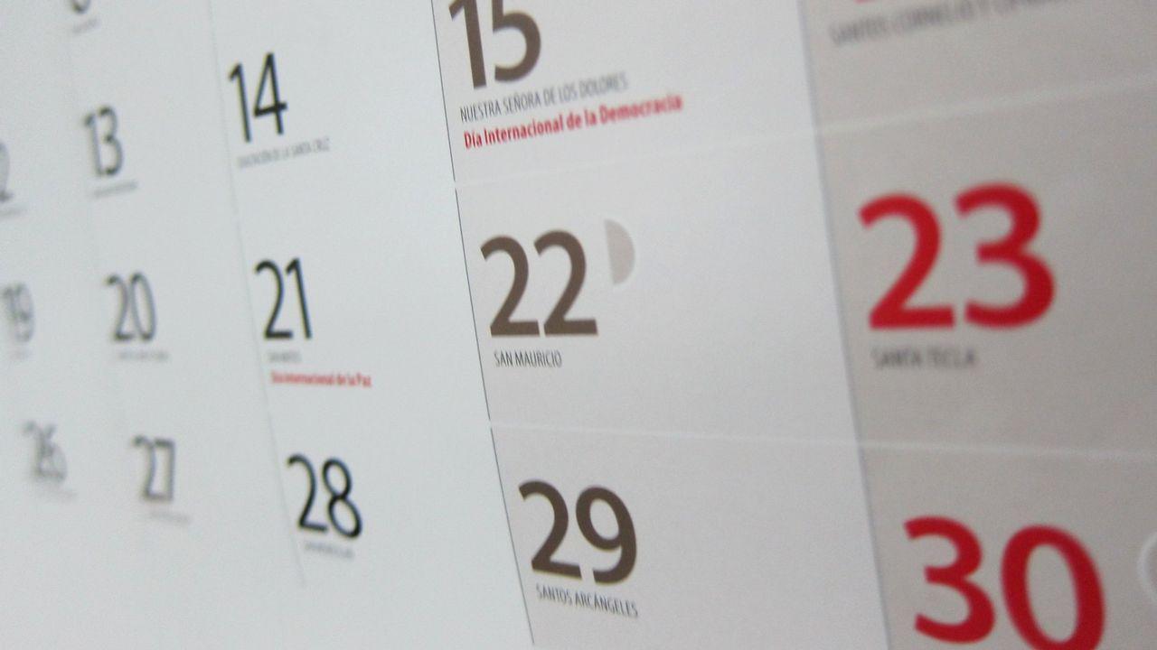Calendario Laboral Pontevedra 2020.El Calendario Laboral De Este Ano Cuenta Con 12 Dias Festivos
