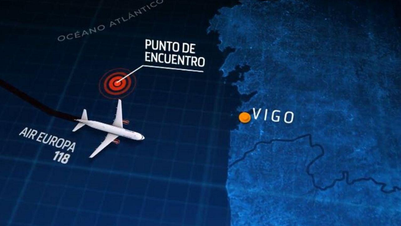 El ovni del tamaño de Gran Canaria junto a la costa de Vigo