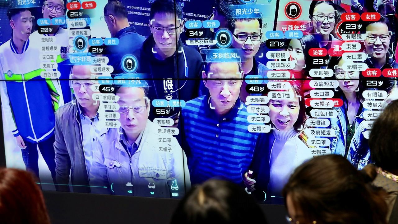 Los sistemas de reconocimiento facial se entrenan con imágenes privadas