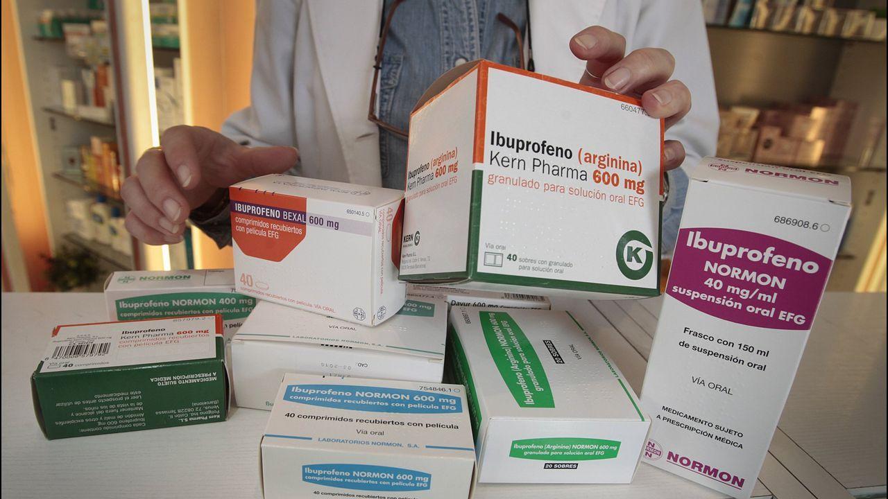 Las Farmacias Serán Rígidas Al Exigir Receta Con El Ibuprofeno Y El Paracetamol