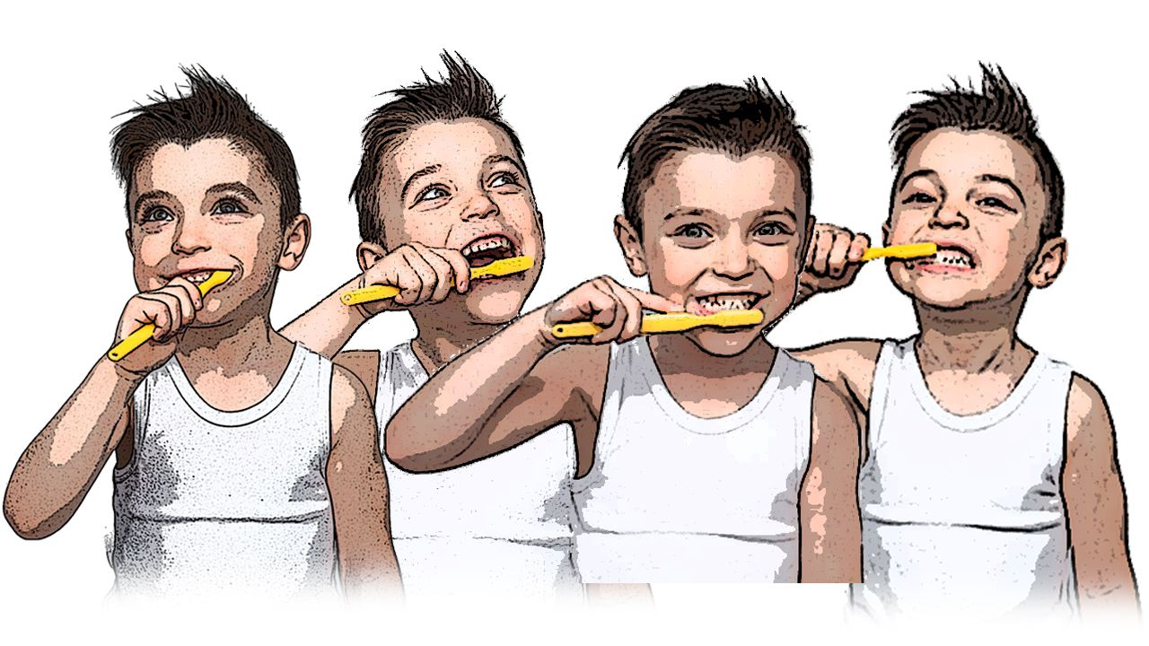 a que edad se le puede cepillar los dientes a un bebe