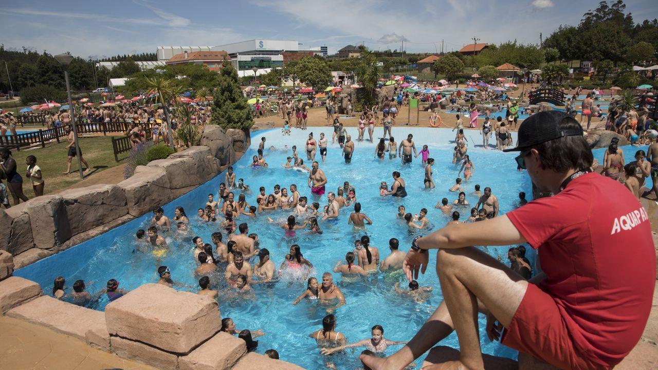 Un día en el Aquapark Cerceda