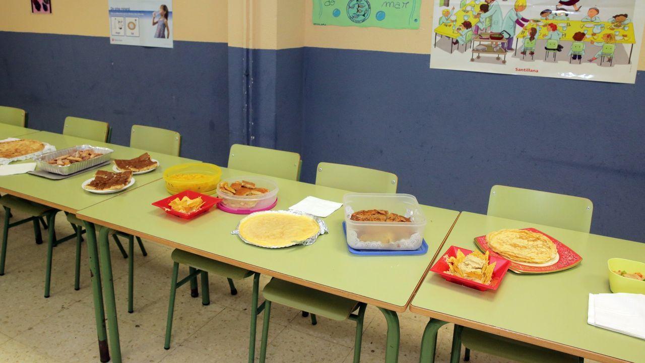 El precio del comedor en los colegios de Gijón sube 25 euros