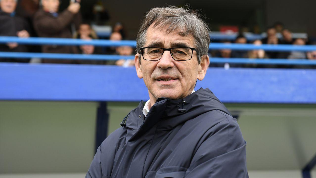 Fernando Vázquez: «No se ganan seis partidos seguidos por suerte»