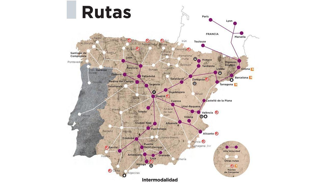 La Poca Punteria De Renfe A La Hora De Situar Las Ciudades