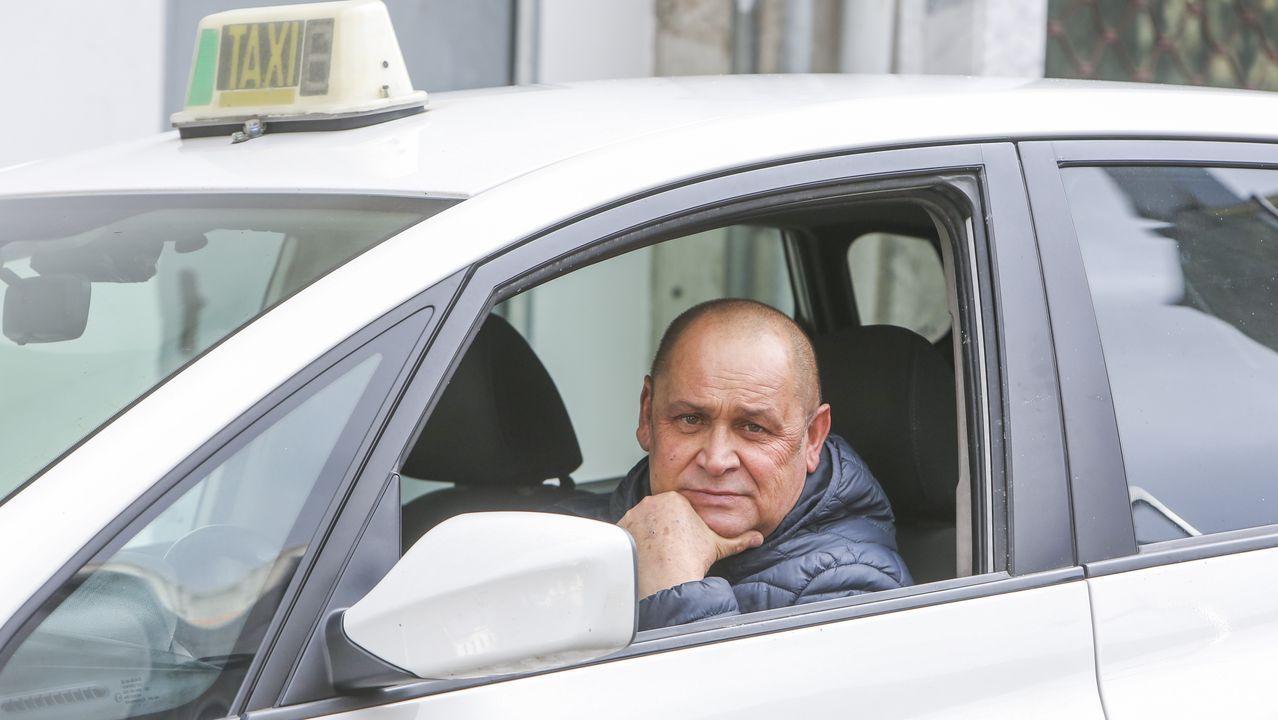 Os taxistas non facturamos nada»