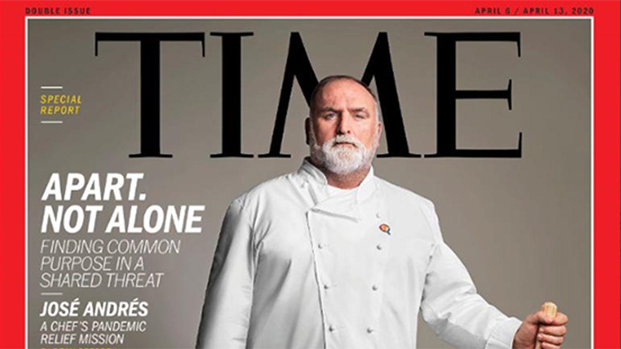 José Andrés, un asturiano portada de Time