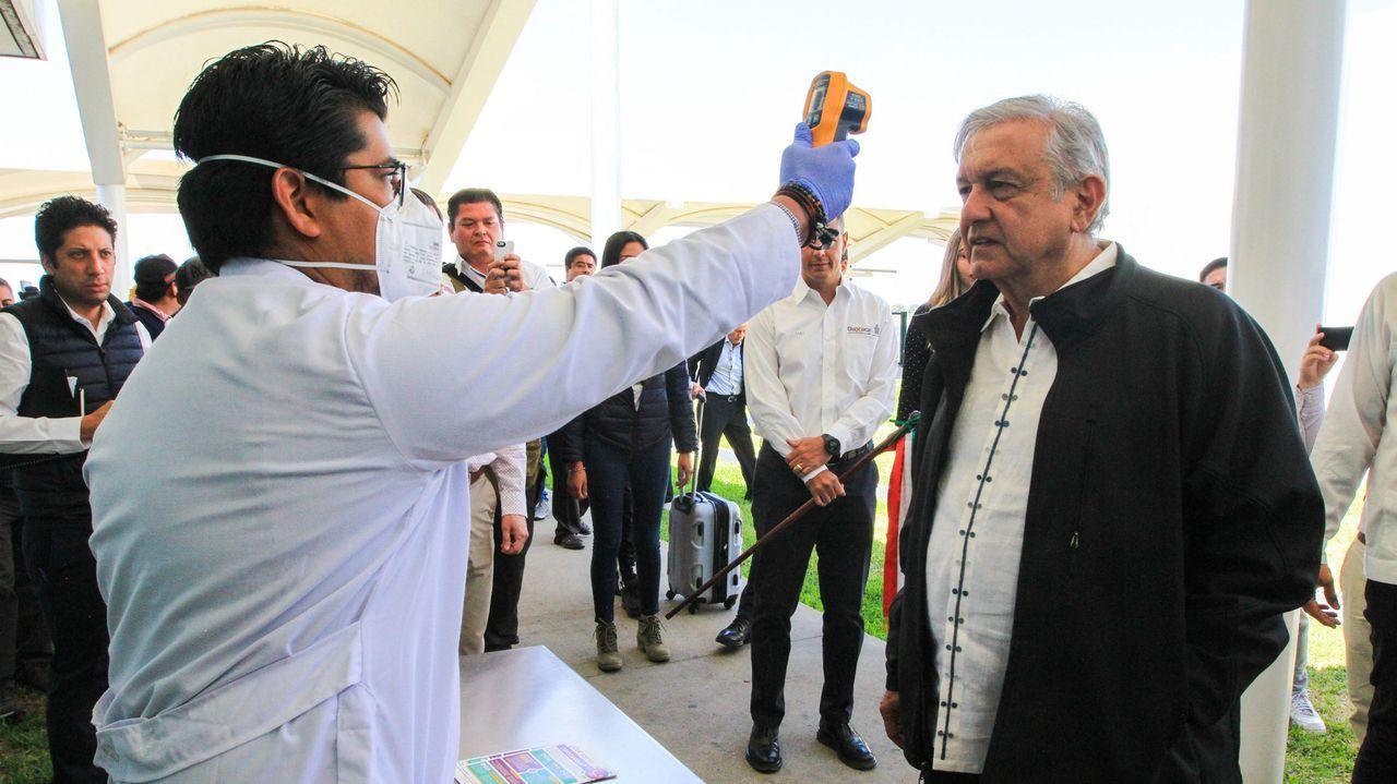 El presidente de México define la pandemia como una crisis «pasajera»