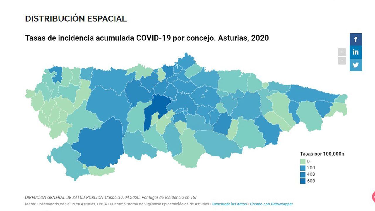 Este Es El Mapa Por Concejos Del Covid 19