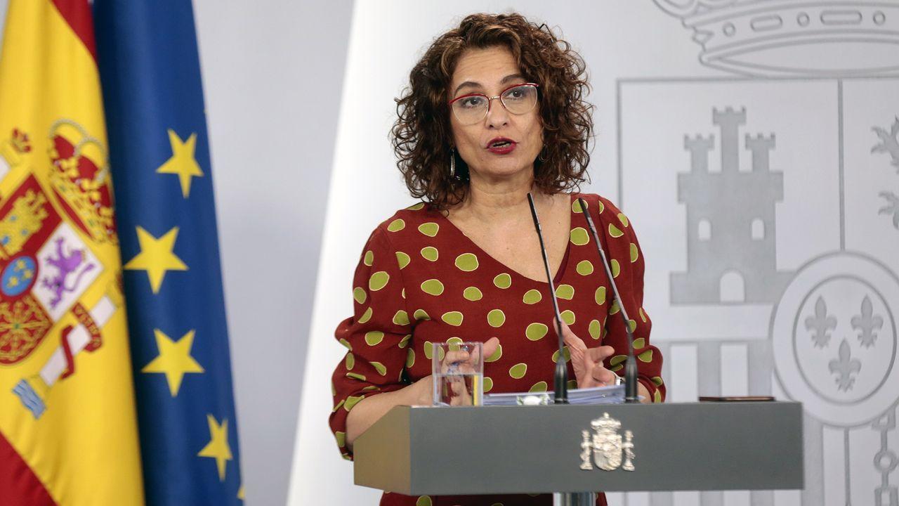 María Jesús Montero: «El Gobierno es fuerte y está unido, pese a quien pese»