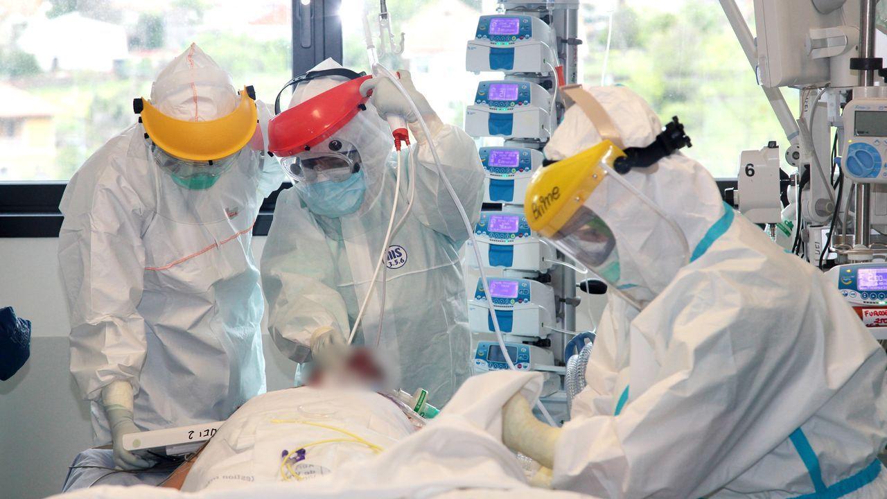 Cuando ves a un paciente joven, intubado y sin factores de riesgo, te das cuenta de que el covid puede afectar a cualquiera»