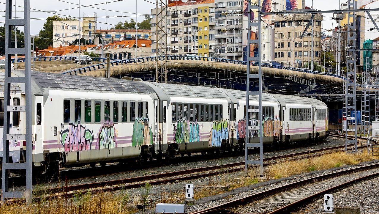 Portugal Usará Los Vagones De Tren Retirados En Galicia Por Portar Amianto