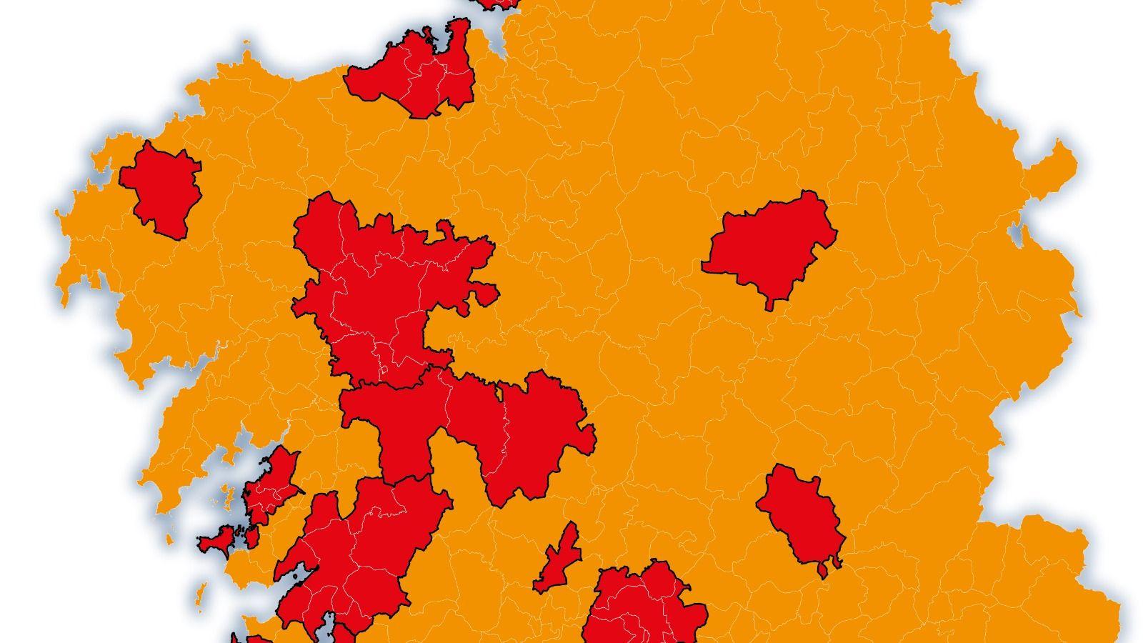 Estas Son Las Nuevas Restricciones En Galicia Y Los Municipios Afectados